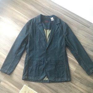 LEVIS Red Line Denim Jacket Blazer Selvege Jean XL